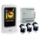 Indicateur de consommation d'énergie tactile + gestion des occultants TYWATT 2000