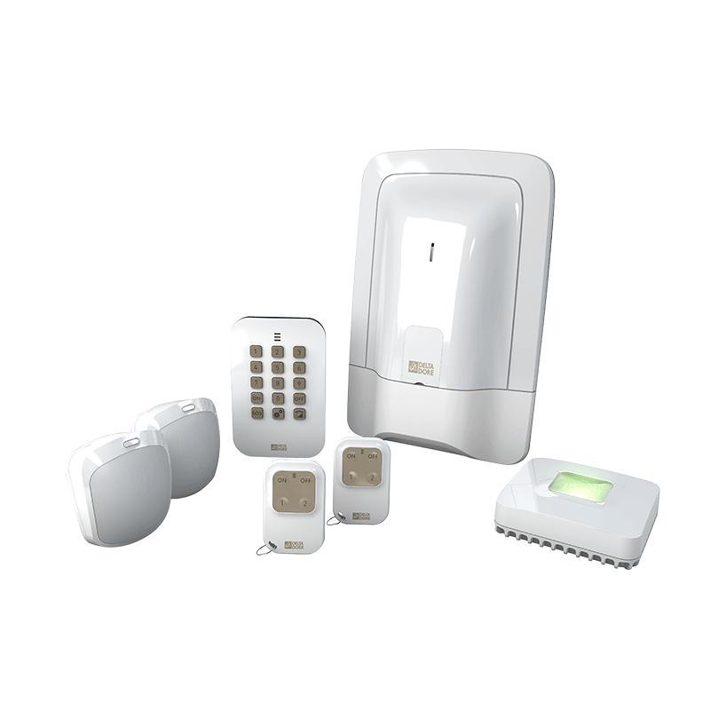 delta dore alarme maison sans fil pack alarme tyxal compact. Black Bedroom Furniture Sets. Home Design Ideas