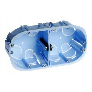 Boîte d'encastrement DOUBLE Diamètre 67 ENT71 P40 H/V XL