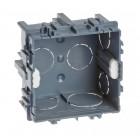 Boîte d'encastrement maçonnerie 75x75x40 gr/vis