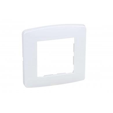 Plaque blanche 1 poste