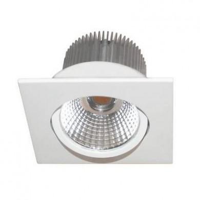 Spot carré encastrable Blanc AL1014S LED