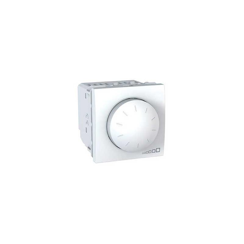 variateur rotatif va et vient 40 400w 2 modules blanc unica le monde de l 39 electricite. Black Bedroom Furniture Sets. Home Design Ideas