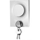 Plaque Odace Styl Pratic - Crochet à clés - Blanc
