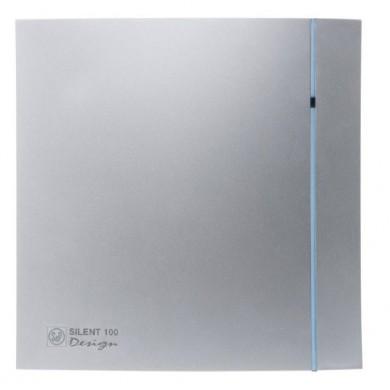 Aérateur Silent 100 cz Silver Design 85M3/H, ultra silencieux