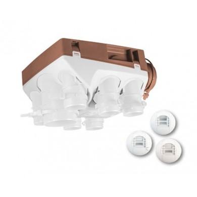 VMC Ozéo Hygroréglable Ecowatt 2 KHB T3/7 P - Très basse consommation - Unelvent 603611