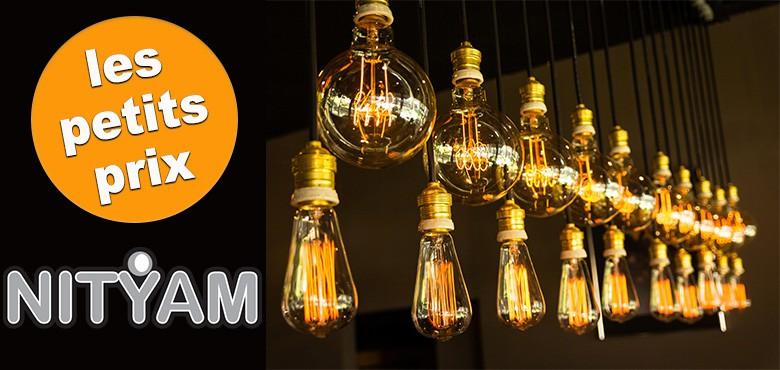 Performantes et économiques, les ampoules LED Nityam éclairent chaque intérieur.